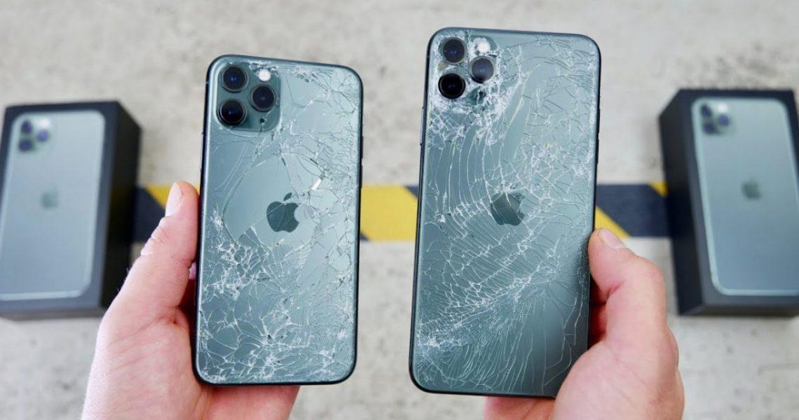 Краш тест iPhone 11 Pro: Самое крепкое в мире стекло!