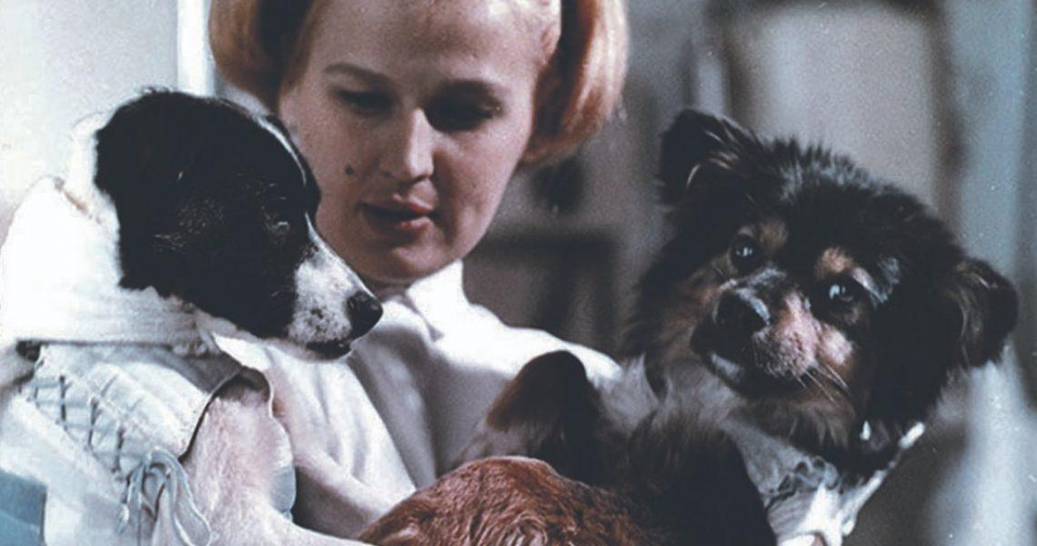Уголек и Ветерок. Первая в мире собака в космосе