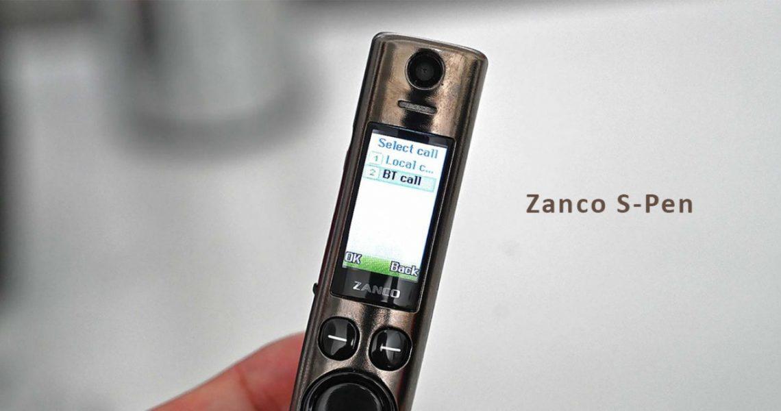 Телефон стилус Zanco S Pen. Характеристики. Автономность