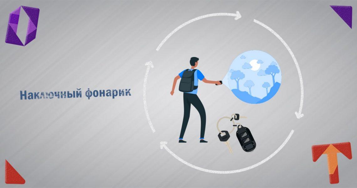 Наключный фонарик Tini 2 и Nitecore TUP брелок Obmentovarov